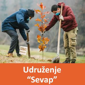 Članovi udruženja Sevap iz Vlasotinca sade drveće